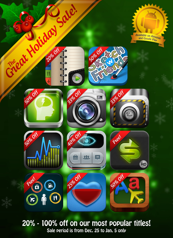 Google Play Holiday Sale - XLabz