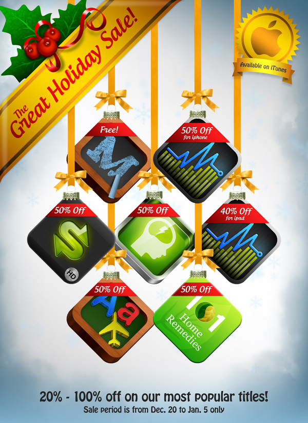 iTunes Holiday Sale - XLabz