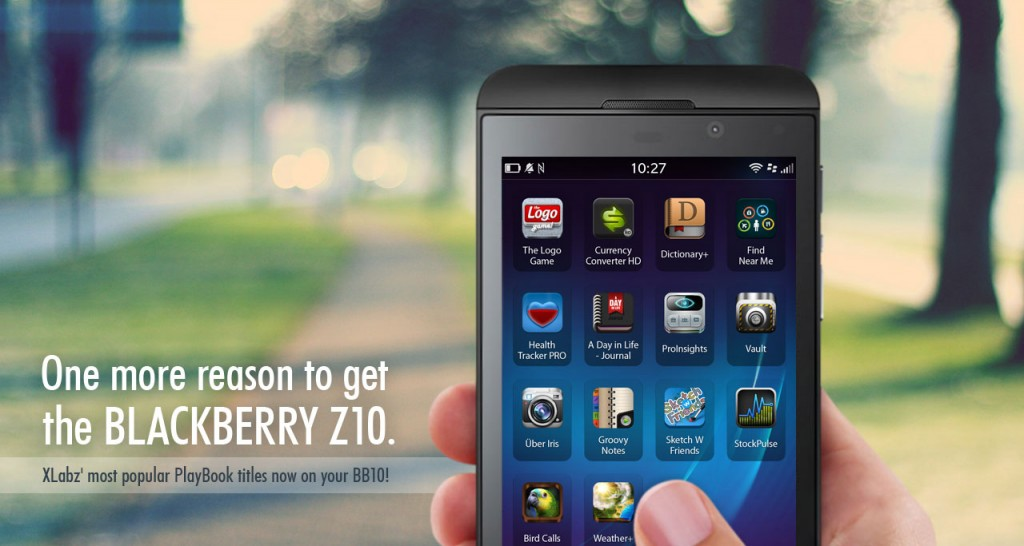 XLabz BlackBerry Z10 Apps