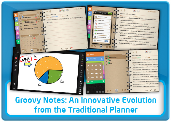 Groovy Notes - Diary / Organizer